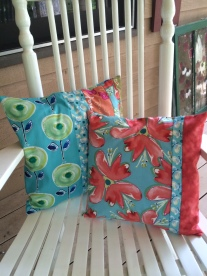 Pillows one and two