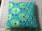 Pillow cover back