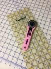 Cutter, mat, and ruler