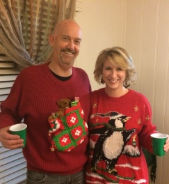 Ugly Sweater Party: for the win!