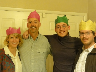 Sandee, Steve, Dustin, Tucker