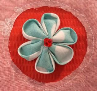 Round Petal flower, large