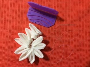 Stitch & shape final petals