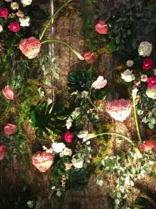 Floral wall by George's