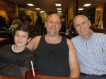 Son Hunter, Todd, Dad