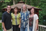 Brandon, Pam, Todd, Lisa