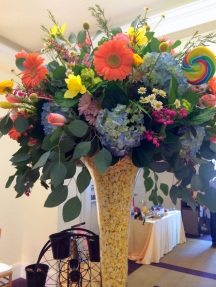 Entrance centerpiece