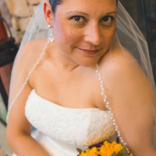 Beautiful bride! Photo, Ashley Simmons