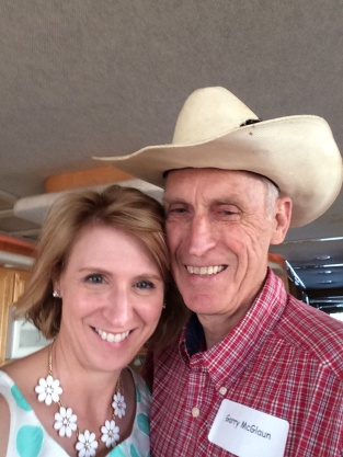 My Dad--yep, our noses match!