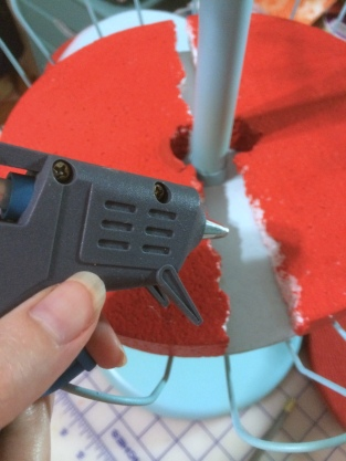 Gluing the rounds