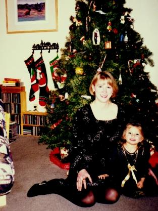 With niece Natasha