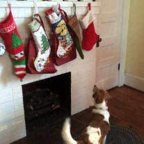 Imoh knows his stocking