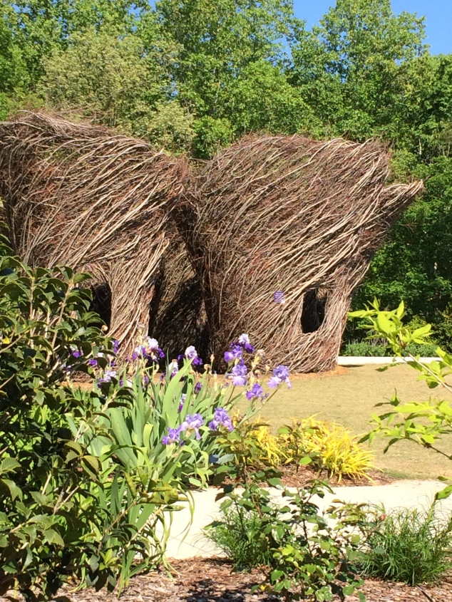 Woven Whimsy: Stickworks by Patrick Dougherty, Atlanta Botanical Garden - Gainesville
